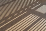 Abstract image of shadows on carpet