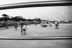 "pan motion photography of ""Kid On Wheels"" by Vinoth Chandar https://flic.kr/p/bb7avB"
