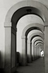 photograph of architectural arches (pattern and repetition) by Huw https://flic.kr/p/ny5p7G